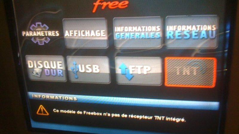 Des Freebox avec clé TNT envoyées à certains Freenautes