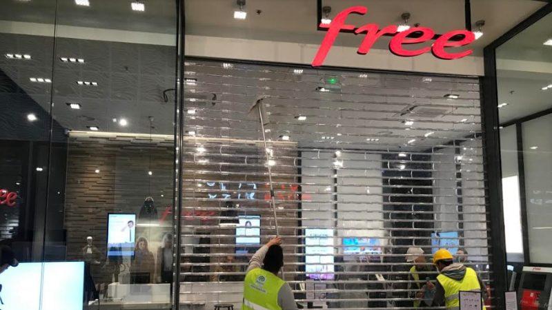 Découvrez en photos le futur Free Center qui arrive dans la nouvelle galerie commerciale de Auchan Noyelles-Godault