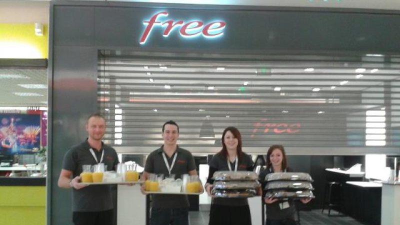 Découvrez le Free Center de Noyelles, ouvert ce matin avec les croissants offerts !