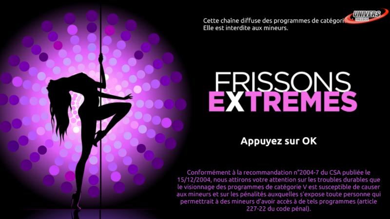 Annonce de la nouvelle boutique sur Freebox Révolution et petite mise à jour pour Frissons Extrêmes