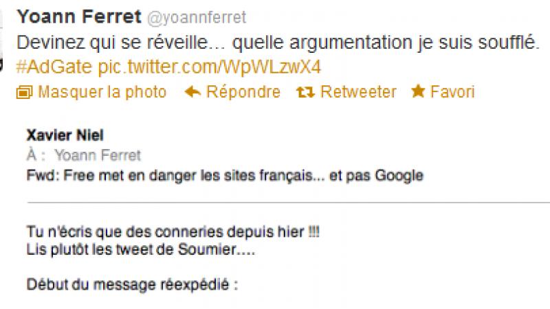 Blocage des pubs : Xavier Niel confirme à demi mot la guerre d'usure avec Google
