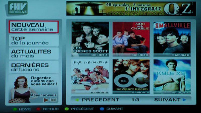 Films et Séries « de A à Z » disponibles sur FHV