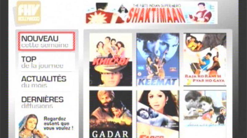 Nouvelle chaîne sur Free Home Vidéo : FHV Bollywood