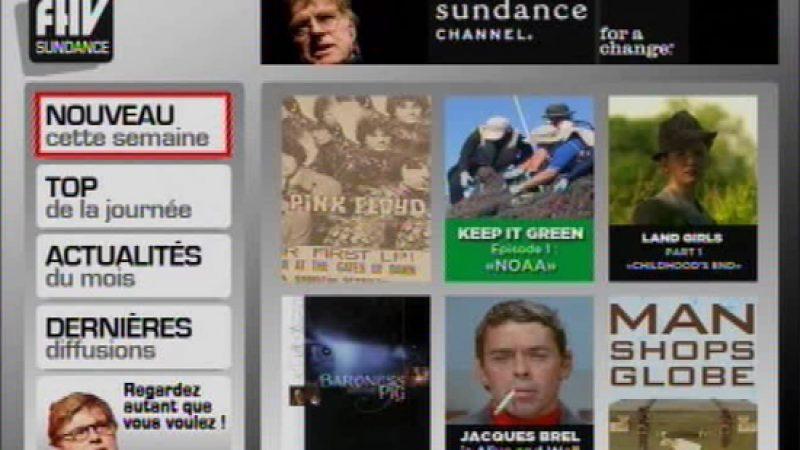 Sundance TV désormais disponible en SVOD sur Freebox TV
