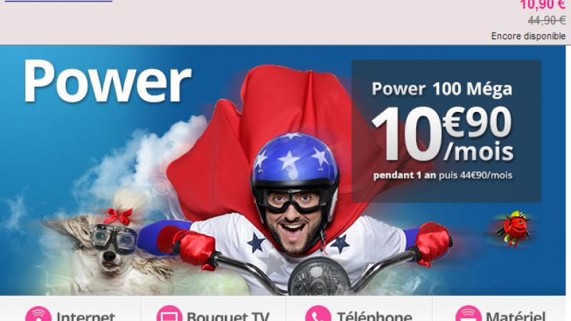Numericable lance une offre quadruple-play à 10,90€/mois sur Vente-Privée