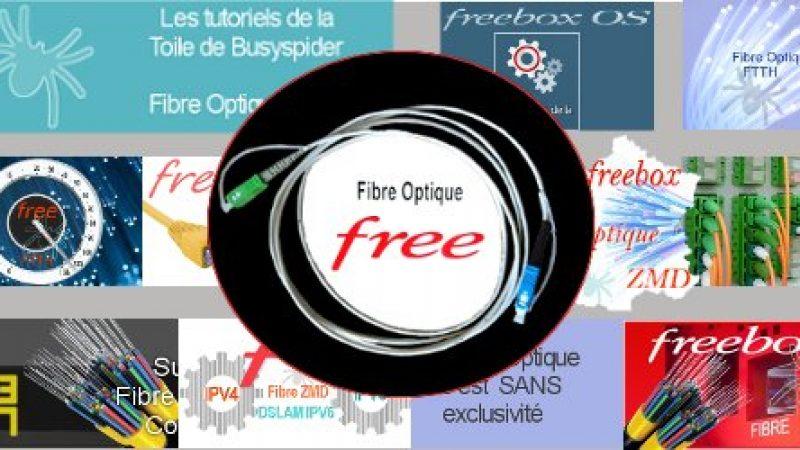 Les meilleurs tutoriels sur la fibre de Free réunis sur une même page
