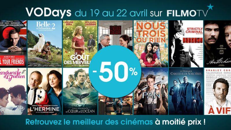 Vidéo club Freebox : C'est parti pour les films à 50% sur Filmo TV