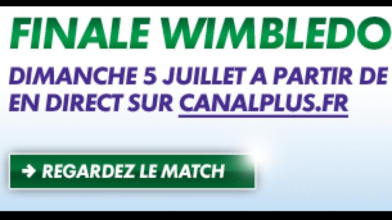 Vivez la finale Wimbledon 2009 gratuitement sur canalplus.fr