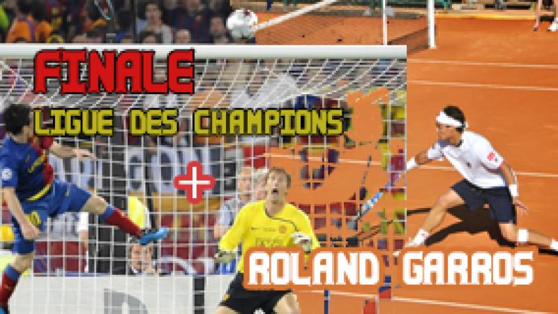 Semaine Sport (22) : Roland Garros, Ligue des Champions, Tour d'Italie…