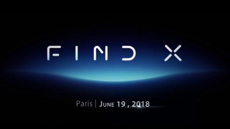 Oppo Find X : le prochain terminal haut de gamme de la marque sera doté de plusieurs innovations