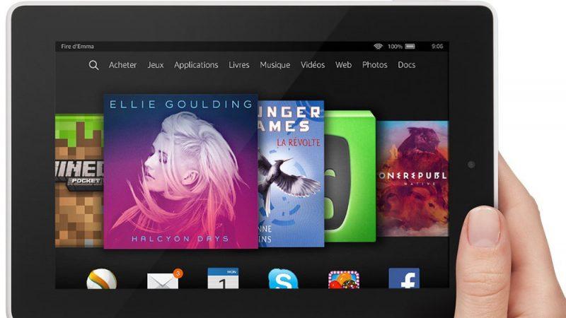 Amazon : une nouvelle tablette Fire à moins de 60 euros