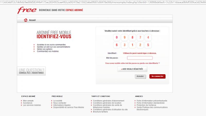 Nouvelle tentative de phishing pour les abonnés Free Mobile