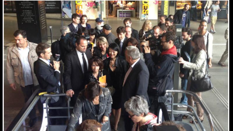 Fleur Pellerin annonce le WiFi gratuit dans 100 gares d'ici la fin 2013