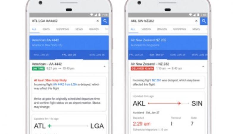 Google Flights est capable de prévenir les retards des vols grâce à son IA