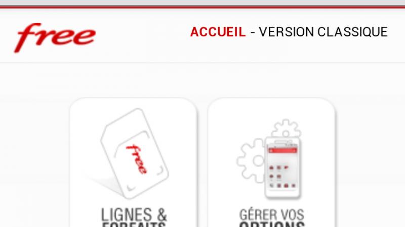 L'espace abonné Free Mobile disponible en version mobile  !