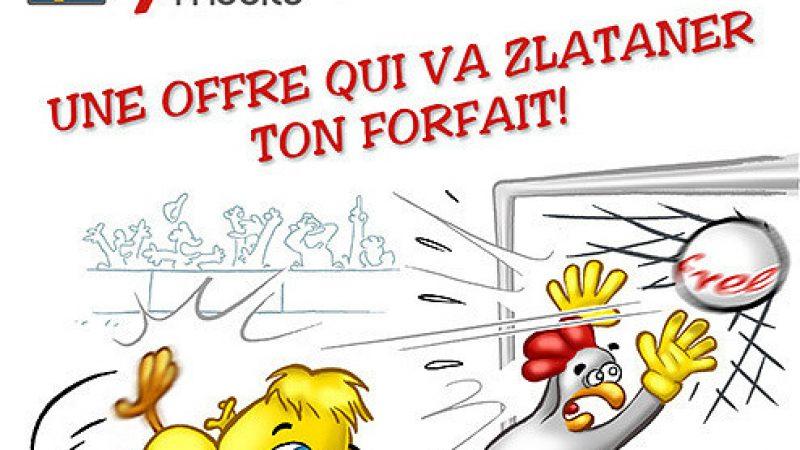 Clin d'œil : un nouveau dessin humoristique Free Mobile sur la Suède
