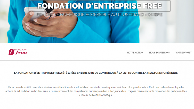La fondation Free lance un nouveau site et fait le bilan des projets numériques soutenus en 2015