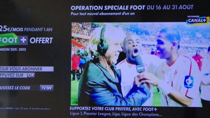 Offre spéciale Canal+ via la Freebox : Canal + à 25€ par mois pendant un an