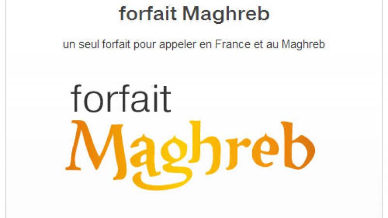 """Alors que Free inclut les appels vers la Tunisie, Orange dégaine le """"forfait Maghreb"""""""