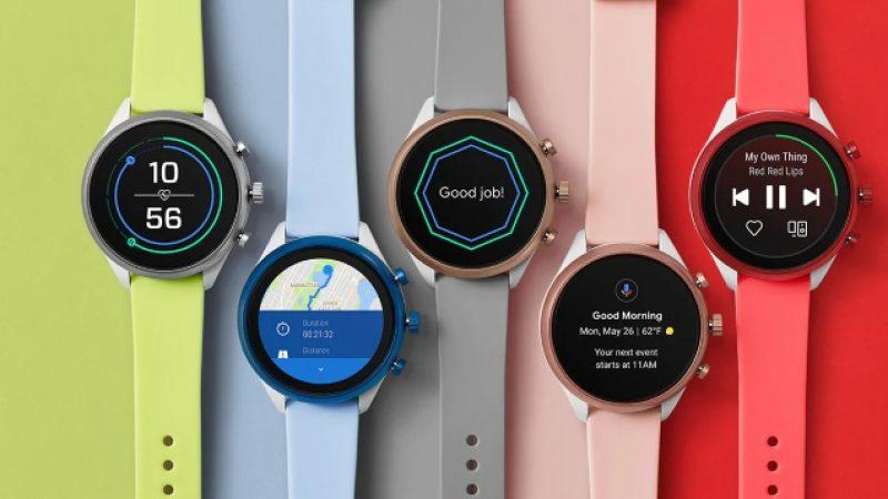 Fossil Sport : la première montre connectée de la marque embarquant la nouvelle puce Snapdragon 3100