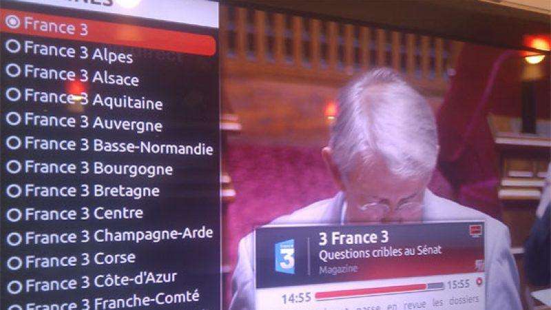 Free migre l'intégralité des France 3 Régions en MPEG 4 et augmente l'éligibilité
