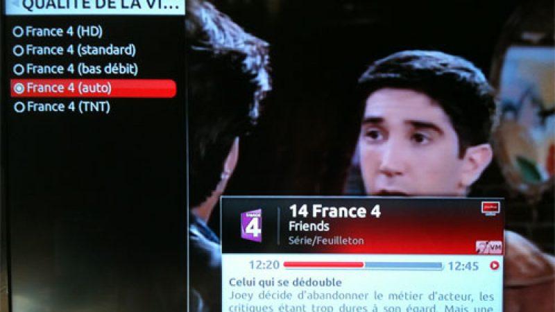 France 5 HD et France 4 HD prêtes à arriver sur la Freebox