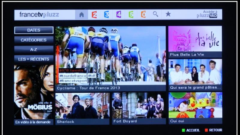 Télévision de rattrapage : une nouvelle interface Pluzz sur Freebox Replay