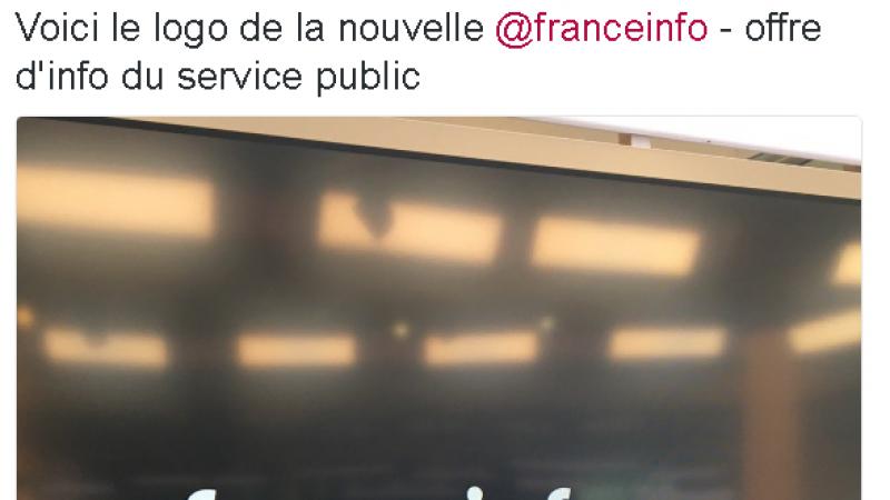 """La nouvelle chaîne publique d'info se nommera """"France Info"""" et dévoile son logo"""