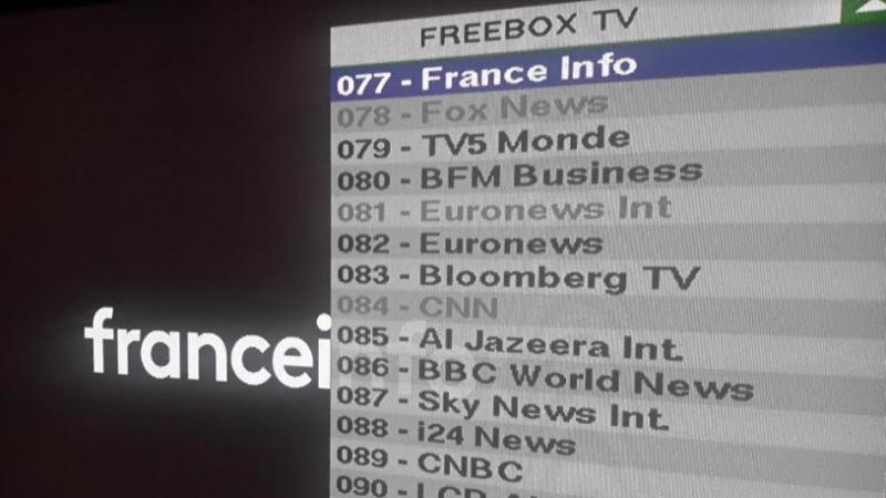 La nouvelle chaîne Franceinfo est déjà arrivée sur Freebox TV