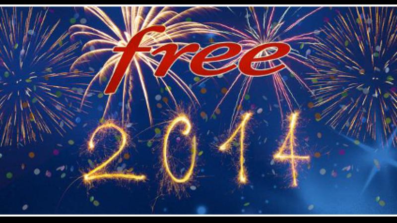 Free vous souhaite une « Bonne Année 2014 ! »