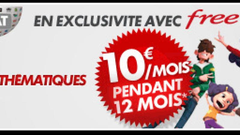 Offre exclusive Free : Canalsat à 10 euros/mois et frais d'accès offerts