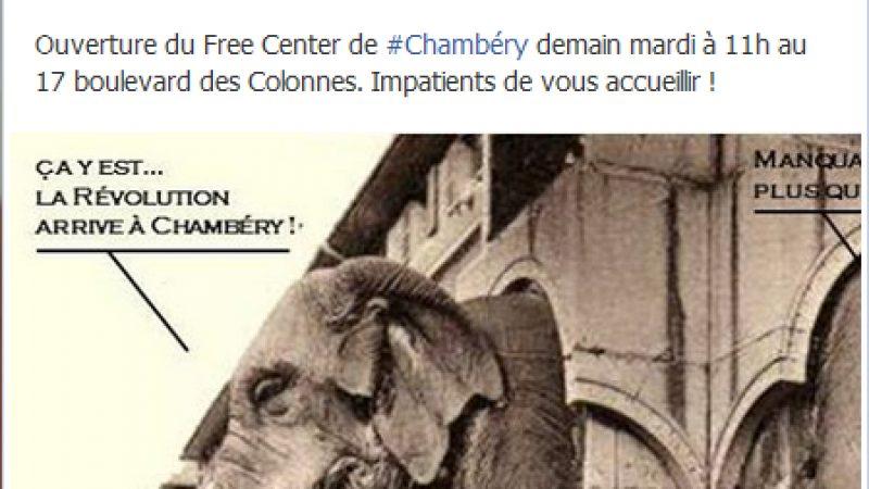Le Free Center de Chambery ouvre demain à 11 heures