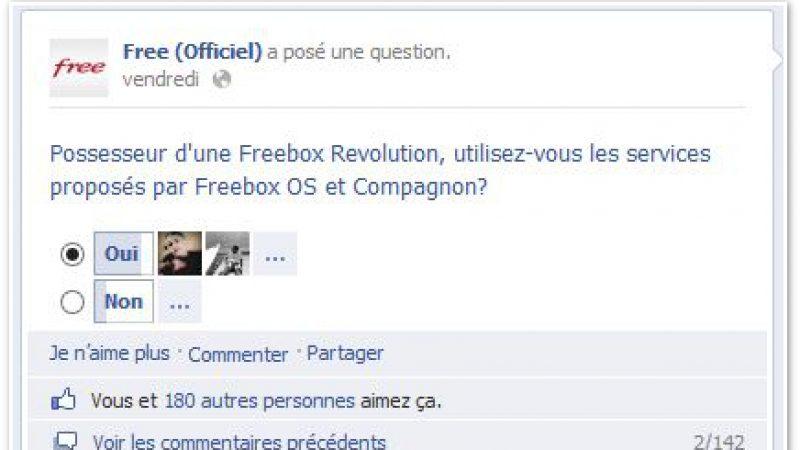 Free : Utilisez-vous les services de Freebox OS et Compagnon ?