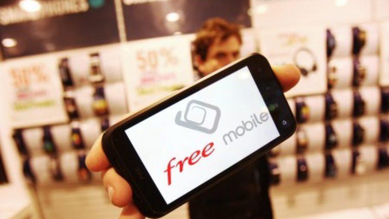 Le taux d'utilisation du réseau propre de Free Mobile, toujours en deçà de son record