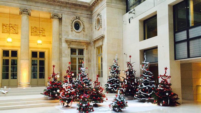 Clin d'œil : la magie de Noël se prépare chez Free
