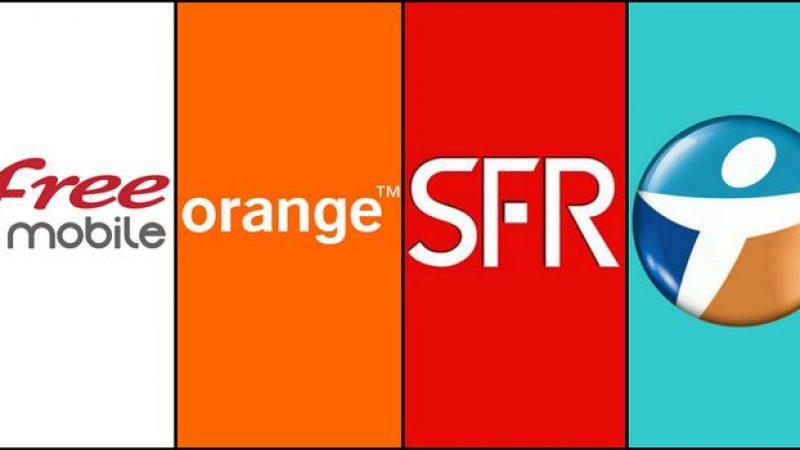 Free et SFR bien loin d'Orange dans le choix des français pour travailler et investir, les opérateurs télécoms peu attractifs dans le classement général
