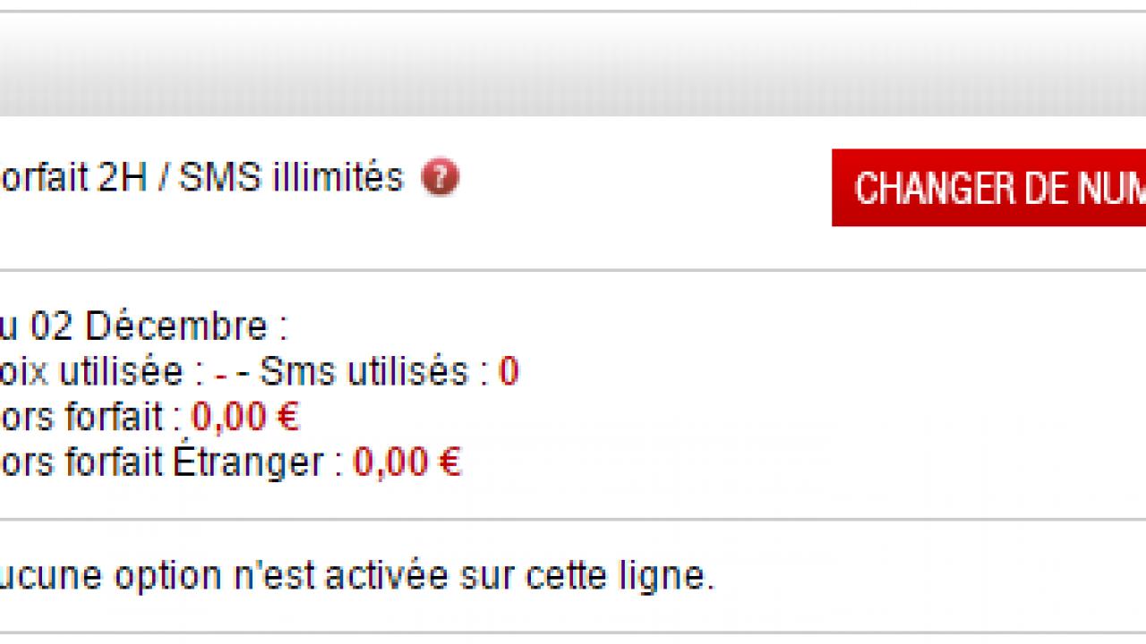 comment passer du forfait 2 euros a 19.99 free