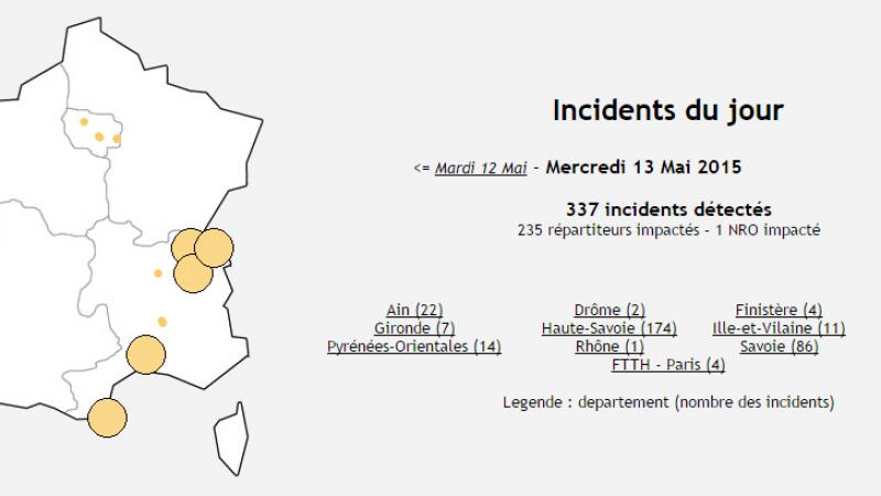 Free : incident important détecté en Savoie et Haute-Savoie
