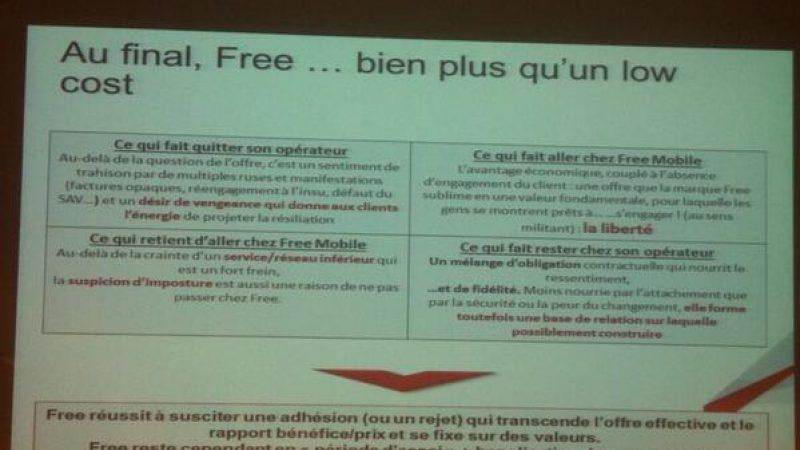 """JNE 2014 : """"vision éclairée"""" de l'image des opérateurs, les raisons du succès de Free Mobile"""