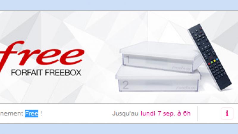 Et de trois ! L'offre Freebox Crystal à 1.99 euro par mois est prolongée.