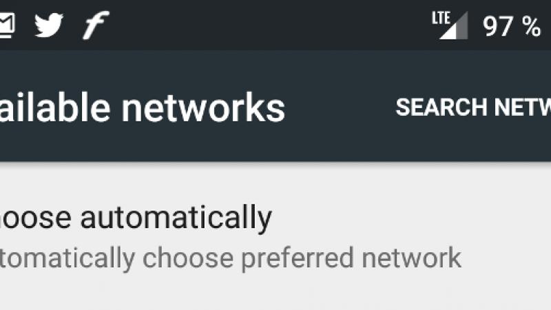 Free Mobile : pour rester connecté, choisissez le mode automatique