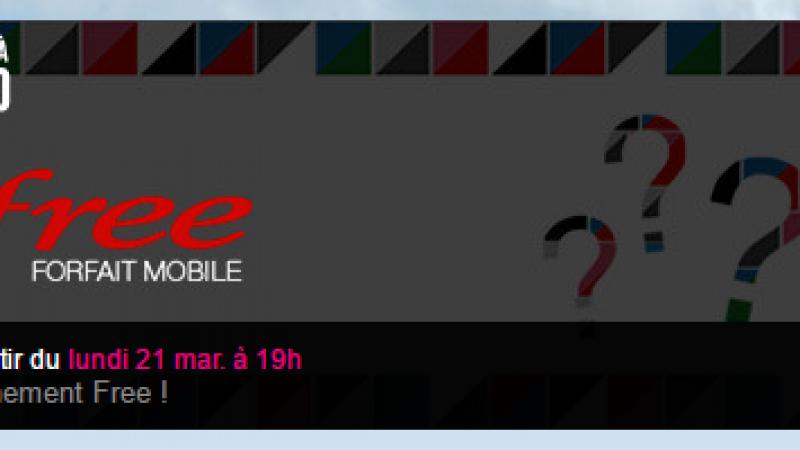Forfait Mobile : Free prépare une nouvelle vente-privée. Rendez-vous demain à 19h !