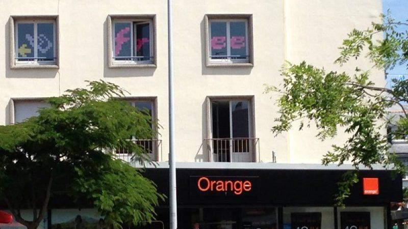 Clin d'oeil : la réponse d'abonnés Free à une boutique Orange