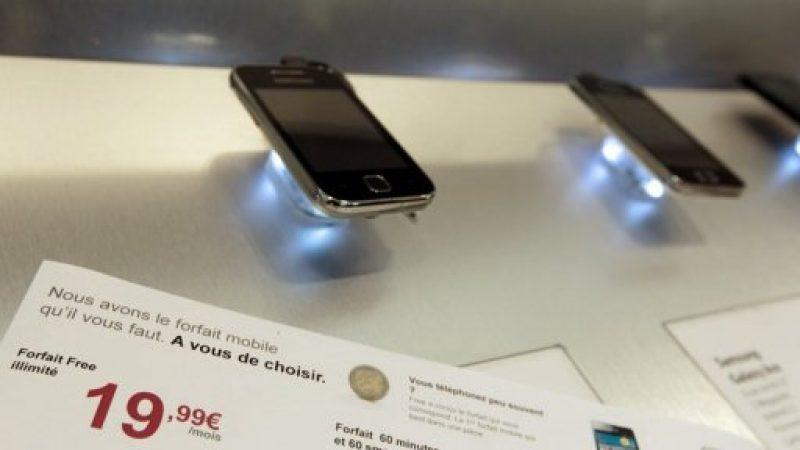 Maxime Lombardini a envoyé l'étude d'impact de Free Mobile à Corinne Erhel, qui s'en réjouit