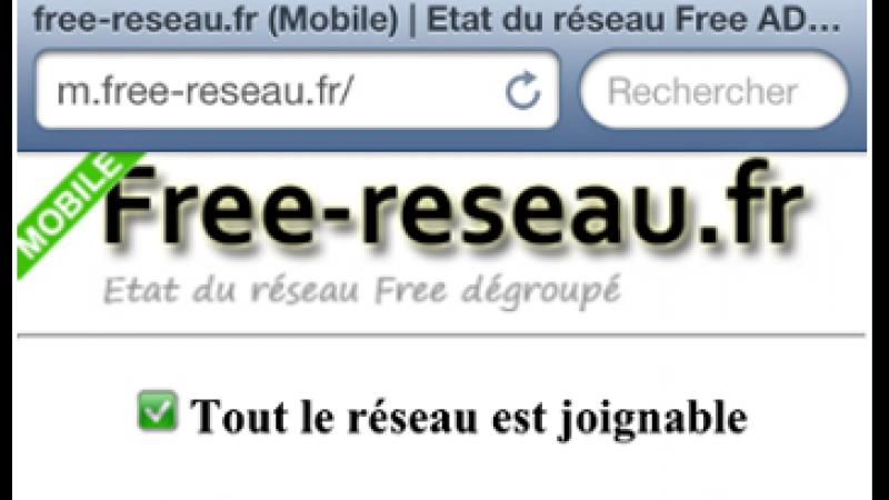 Free Réseau dispose désormais d'une version mobile