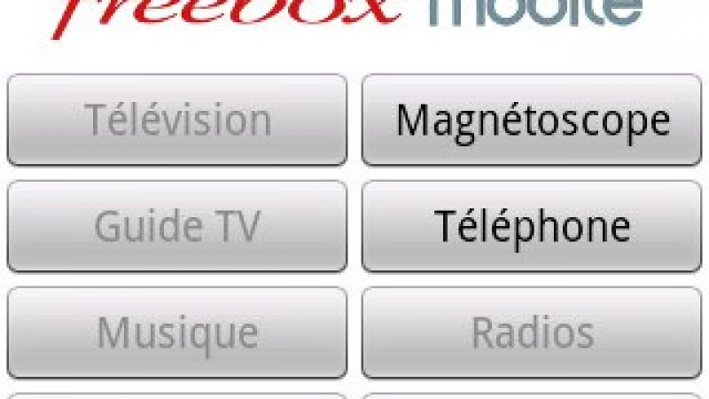 Nouvelle version de Freebox Mobile pour gérer vos services à distance