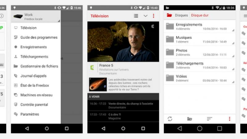Freebox Compagnon : une mise à jour et des nouveautés pour la version Android