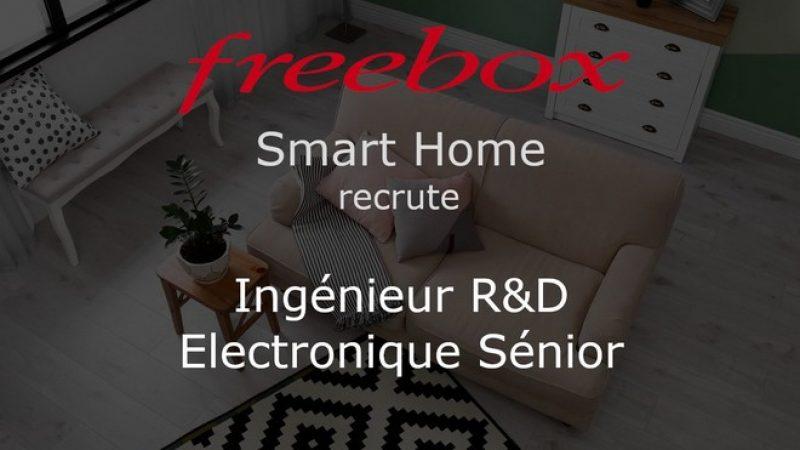 Freebox Delta : Free recrute de nouveau pour son équipe Smart Home