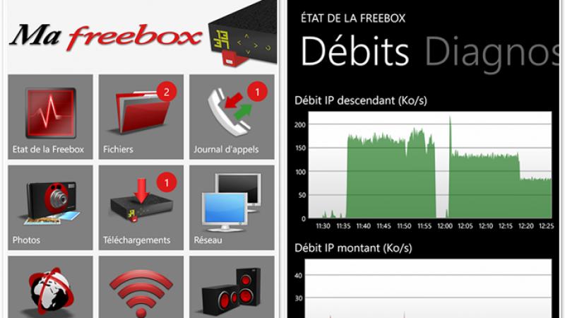 Ma Freebox : Gérez votre Freebox Révolution depuis votre Windows Phone