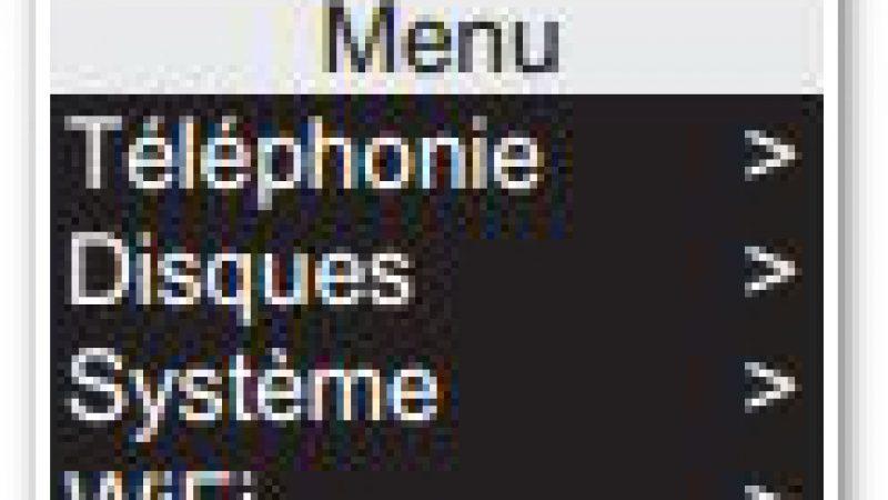 Un mystérieux menu « Disques » dans l'interface tactile de la Freebox Révolution